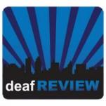 deafREVIEW logo